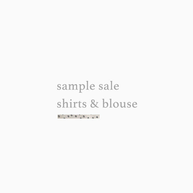 sample sale (shirts/blouse),킨다베이지